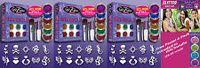 Glitter Tattoo Party Bundle: 3 Original Large Glitter Tattoo Kits + Free Bonus!