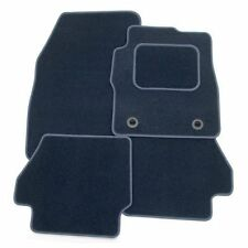 Perfect Fit Navy Blue Carpet Car Mats for VW Phaeton 02+ - Push & Click Fixings
