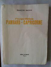 L'EXPEDITION PANHARD CAPRICORNE 1952 FRANCOIS BALSAN ILLUST BATEAU