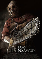 Texas Chainsaw 3D Repro Film POSTER