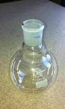 100ml Flat Bottom Round Flask FF100/2S Quickfit B19/26 NS19 Laboratory Glassware