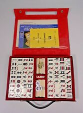 Traditional Mah-Jongg Board Game Tile Game By HPG&S In Original Carry Case