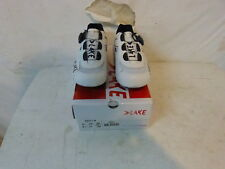 Lake CX217-W Women's Road Shoe 39.5 US 8.5 White/Black Retail $170