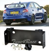 For 15-17 Subaru WRX STi Black Mounting Rear Fog Lights Bracket W/ Fastener Clip