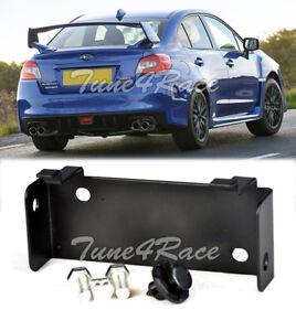 For 15-17 Subaru WRX STi Black Mounting Rear Fog Lights Bracket W/ Fastener Clip