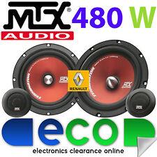 RENAULT MEGANE CLASSIC MK1 MTX 480 Watt Kit di Componenti Porta Anteriore Altoparlanti Auto