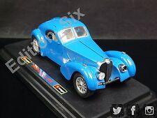 Burago 1:24 1936 Bugatti Atlantic Classic Vintage Sports Car Blue