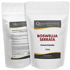 Boswellia Serrata - 10:1 Extracto Polvo - Fuerza & Calidad - Elige Pack Talla