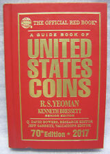 The Official Red Book A Guide Book of US Coins 2017 RS Yeoman 70th Edition HB