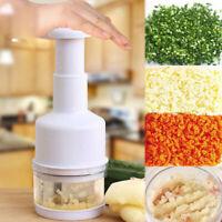 Chopper Pressing Cutter - Vegetable Food Onion Garlic Slicer Peeler Dicer Mincer