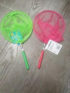Children Kid Extendable Nets Telescopic Sea Fishing Bug Butterfly Catcher Mesh