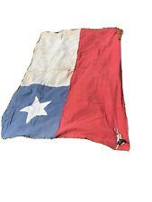 Antique Chile Flag Homemade