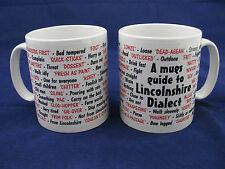 LINCOLNSHIRE LINCOLN DIALECT LOCAL LANGUAGE SAYINGS TRANSLATION TO ENGLISH MUG