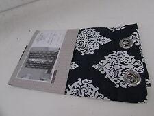 "Exclusive Home EH7927-03 2-96G Damask Print Window Panels 54"" X 96"" Indigo Pair"