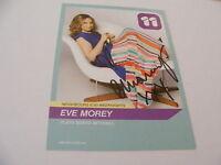 EVE MOREY Signed Neighbours Cast Card Photo Autograph TV Actress Sonya