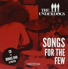THE UNDERDOGS (BLUES ROCK) - SONGS FOR THE FEW [BONUS DVD] NEW DVD