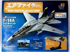 Hachette Air Fighters Collection US Navy F-14A Tomcat Vol.2 With 1/100 New Model