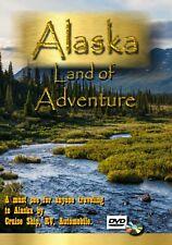 Alaska land of Adventure ( DVD video movie) Alaska cruise RV Auto Travel blu-ray
