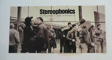 Stereophonics Performance Cocktails Cardboard LP Record Photo Flat 12X24 Poster
