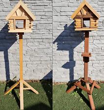 Vogelhaus , Holzvilla, Vogelstation, Vogelhäuschen+Ständer