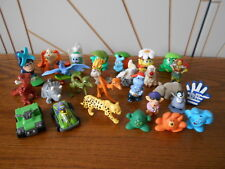 KINDER SURPRISE lot of mini toys WILD ANIMAL/RIO/HIPPO/DINOSAUR no papers/eggs