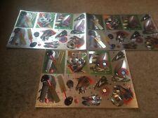 3 Non Die Cut Foiled Dufex Decoupage Sheets - Sport - Set 58