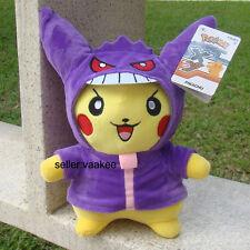 "Cosplay Pokemon Go Plush Toy Pikachu Gengar 10.5"" Cute Stuffed Animal Soft Doll"