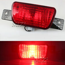 For Mitsubishi Lancer CX_A Sport back 08-15 Red Rear Tail Bumper Lights Fog Lamp