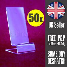 50x Acrylic Mobile Cell Phone Smartphone Retail Display Stand Cabinet Stands NEW