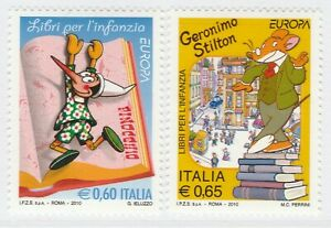 Italy 2010 Europa CEPT Children's Books MNH** Full Set A18P53F244