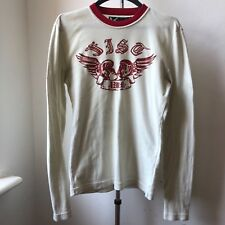 Very cool ANDREW MACKENZIE boxing wing long sleeve slim fit muscle t shirt M