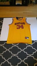 Nike New Maryland Large Len Bias Gold Basketball Jersey XXL