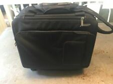 """Briggs and Riley Span Expandable 7""""x15.5""""x12.5"""" Wheeled Upright - Black"""