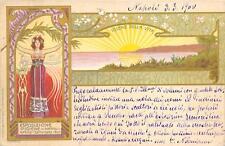 A9673) NAPOLI 1900, ESPOSIZIONE D'IGIENE, ILL. GAMBARDELLA VG NEL 1900 DA NAPOLI