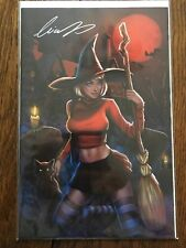 SABRINA THE TEENAGE WITCH #1 VIRGIN SIGNED BY ELIAS CHATZOUDIS W/COA LMTD 25