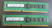 Samsung M393B5273CH0-YH9 8GB (2 x 4GB) PC3L-10600R ECC Reg 2Rx8 CL9 DDR3 240-Pin