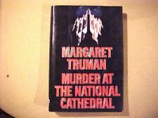 Murder at the National Cathedral by Margaret Truman (1990, Hardcover) Book Novel