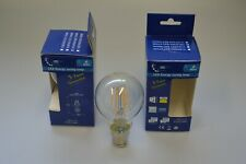 UEP LED 6 WATT 2700K WARM WHITE B22 GLOBE LIGHT BULB LAMP PACK OF 5 LAMPS