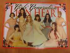 SNSD GIRLS' GENERATION - Lion Heart (5th Album) CD + Unfold POSTER K-POP