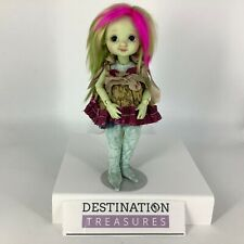Nikki Britt MDCC 2016 Peppermint Annie Doll Ltd Ed BJD Rainbow Hair Unique
