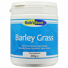Barley Grass - 200g - Natural Green Superfood by Bob's Best