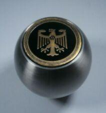 1968-1979 VW Brushed Silver Shift Knob w/ Eagle Logo 12mm Thread Metal