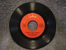 "45 RPM 7"" Record Rod Stewart Man Of Constant Sorrow & Handbags & Gladrags 73031"