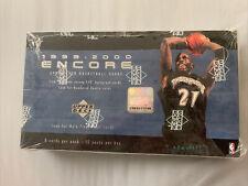 1999-2000 Upper Deck Encore Basketball Sealed Box - Kobe, Jordan? rare inserts