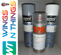 UPOL AEROSOL PAINT PRIMER LACQUER REPAIR KIT FOR VOLVO SILVER METALLIC 426
