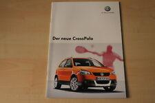 68384) VW Polo 9N CrossPolo Prospekt 10/2005