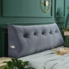 European Removable Velet Cushion Triangular Bed Backrest Pillow Waist Cushion
