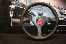 Genuine MOMO Black Air Leather Steering Wheel #410