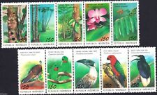 Indonesia 1994, Birds, Parrots & Flora, Stamps stripe MNH