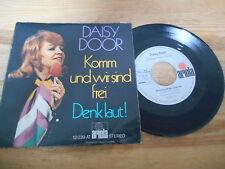 """7"""" Schlager Daisy Door / Peter Thomas - Komm und wir sind frei (2 Song) ARIOLA"""